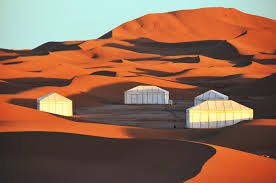 Luxury Sahara Desert Camp